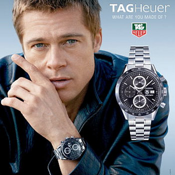 heuer watch replica Brad Pitt